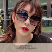 《Caroline》年度最新網紅款潮流百搭抗UV時尚太陽眼鏡 72096標檢局D74321