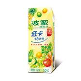 波蜜低卡果菜汁250ml*18【愛買】