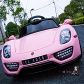 兒童電動車 四輪可坐遙控汽車1-3歲4-5搖擺童車可坐人寶寶玩具車T 3色