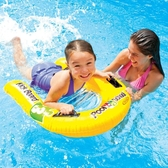 INTEX兒童泳圈泳校踢板水上沖浪浮排游泳浮板充氣浮排游泳教具   圖拉斯3C百貨
