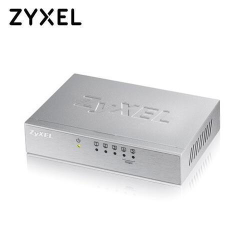 ZyXEL 合勤 5埠桌上型高速乙太網路交換器 ES-105A
