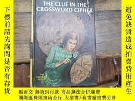 二手書博民逛書店the罕見clue in the crossword ciphe