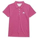 KAPPA義大利女吸濕排汗速乾女生POLO衫-桃紅341815WXLF