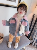 兒童牛仔外套秋冬2020新款兒童牛仔外套加絨羊羔絨男童女童冬裝洋氣女寶寶上衣 新品