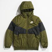 NIKE服飾系列 AS M NSW SYN FILL JKT HD 立領拼接 鋪棉防風外套-NO.928862355