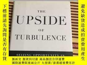二手書博民逛書店The罕見Upside of Turbulence【動盪的好處】