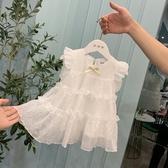 洋裝 女童新款夏裝女寶寶公主裙洋氣蓬蓬裙中小童連衣裙嬰兒裙薄款