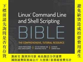 二手書博民逛書店Linux罕見Command and Shell Scripting Bible, 3rd EditionY4