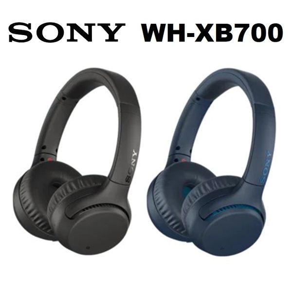 【免運費】SONY WH-XB700 無線藍牙耳罩式耳機 (公司貨)