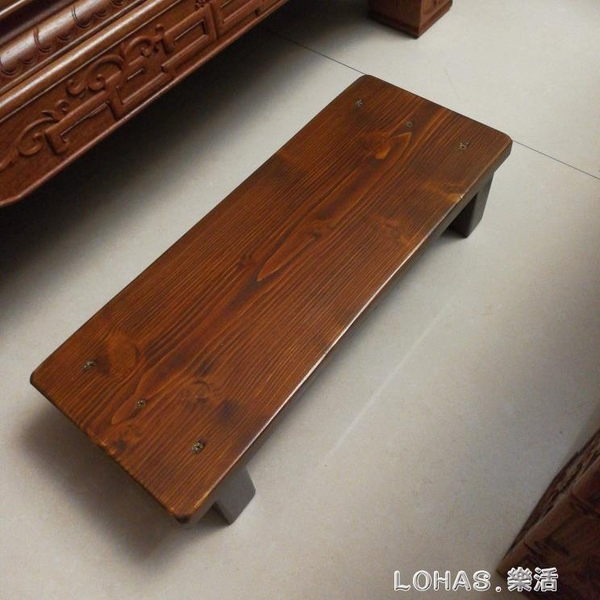實木腳踏板辦公室神器腳踏凳家用墊腳台鋼琴踩腳凳電腦桌墊腳沙發 樂活生活館