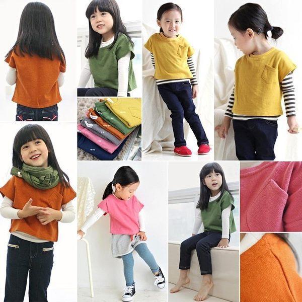 韓版《短版造型款》二件式~長袖上衣