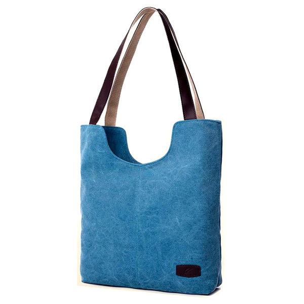 換換包!Changebag!簡約時尚休閒手提帆布包