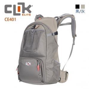 美國【CLIK ELITE】CE401 Hiker 登山者輕型雙肩攝影相機後背包 容量25公升 戶外攝影
