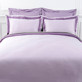 (組)雅緻天絲素色加大床被組降紫
