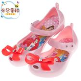 《布布童鞋》Disney迪士尼公主蝴蝶結粉色輕便公主涼鞋(15~20公分) [ D9A307G ]