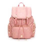 PLAYBOY-  後背包 Floral花漾系列 -粉膚色