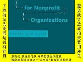 二手書博民逛書店Strategic罕見Management For Nonprofit Organizations: Theory