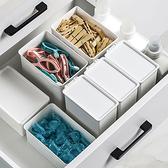 收納盒 分裝盒 整理盒 收納桶 B 櫥櫃收納 抽屜收納 文具盒 極簡加蓋收納盒【Z076】生活家精品