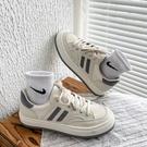 2021新款春秋小眾原創INS潮帆布小白鞋女夏季ULZZANG百搭運動板鞋