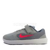 Nike nike revolution 3 (tdv) [819418-003] 小童鞋 慢跑 運動 休閒 灰 粉紅