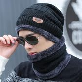 帽子男冬天保暖毛線帽棉帽騎車針織帽 交換禮物