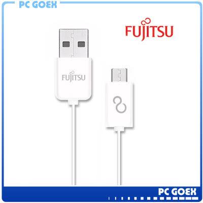 ☆軒揚PC goex☆ FUJITSU 富士通 MICRO USB 傳輸充電線 - 1M (白)