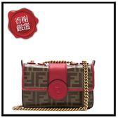 FENDILOGO皮革小斜背包8BS016全新商品