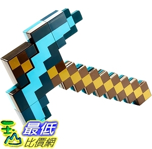 [7美國直購] Mattel Minecraft Transforming Sword & Pickaxe Action Figure