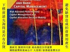 二手書博民逛書店Value罕見At Risk And Bank Capital Management: Risk Adjusted
