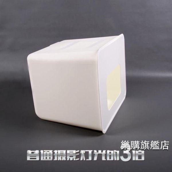 攝影棚 一體成型LED攝影棚柔光箱 珠寶拍照燈箱套裝拍攝器材道具wy【樂購旗艦店】
