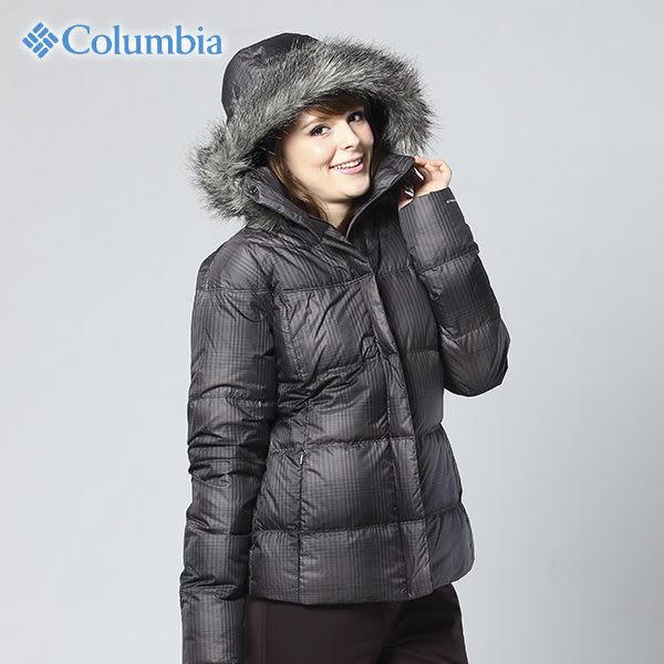 Columbia 女 防風│保暖│羽絨外套 WR5120『黑』