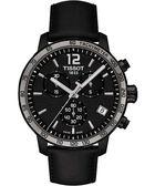 TISSOT 天梭 T-Sport Quickster 競速運動計時手錶-黑/42mm T0954173605702