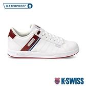 【超取】K-SWISS Lundahl WP防水時尚運動鞋-女-白/紅/藍