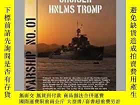 二手書博民逛書店Cruiser罕見HNLMS Tromp (damaged)-巡洋艦HNLMS Tromp(損壞)Y41495