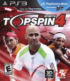 PS3 Top Spin 4 職業網球大聯盟4(美版代購)