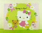 【震撼精品百貨】Hello Kitty 凱蒂貓~卡片-化妝粉