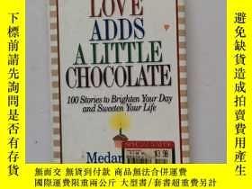 二手書博民逛書店Love罕見Adds a Little Chocolate: 100 Stories to Brighten Yo