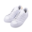 ADIDAS NEO GRAND COURT SE 復古板鞋 全白黃 FW3301 女鞋