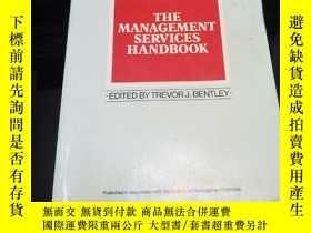 二手書博民逛書店The罕見Management Services Handboo