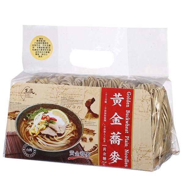 【美佐子MISAKO】中式食材系列-玉民 黃金蕎麥黃金麵 600g