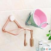 廚房墻壁掛鉤置物架衛生間臉盆收納架浴室壁掛【千尋之旅】