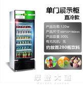 戈紳冷藏展示櫃立式玻璃商用冰櫃冰箱啤酒飲料保鮮櫃雙門單門冷櫃igo「摩登大道」