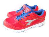 『雙惠鞋櫃』◆DIADORA迪亞多那 ◆紅藍配色 局部止滑 抗震輕盈 男款運動慢跑鞋◆ (DA3002) 紅