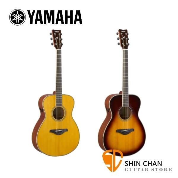 YAMAHA山葉FSTA41吋 可插電單板 民謠吉他FS  TA附原廠厚袋、Pickx2、移調夾、導線、背帶