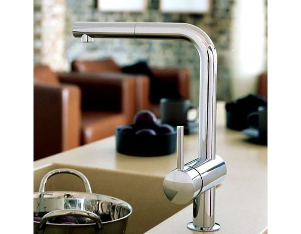 【麗室衛浴】德國GROHE 廚房龍頭 32168冷熱水可抽拉廚房龍頭32168000特價