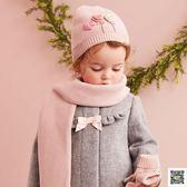 寶寶帽 【加絨】拉秋冬季女寶針織帽子嬰兒套頭帽DB5719 快樂母嬰