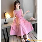 女童洋氣連衣裙夏中大童新款小女孩韓版夏裝兒童網紅裙子爆款【勇敢者】