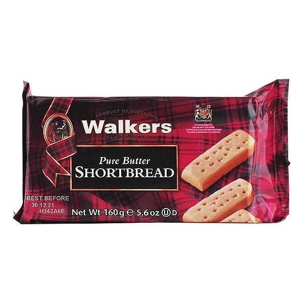 英國 Walkers 蘇格蘭皇家迷你奶油餅乾(160g)【小三美日】