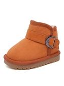 環球兒童雪地靴2020冬季新款百搭保暖女童棉靴冬鞋男童寶寶短靴子 艾瑞斯