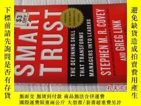 二手書博民逛書店Smart罕見Trust:The defining skill